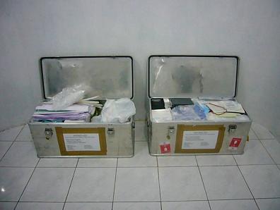 medische apparatuur, medicamenten en instrumenten
