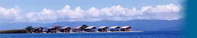 At Lake Poso: Tando Bone bungalows